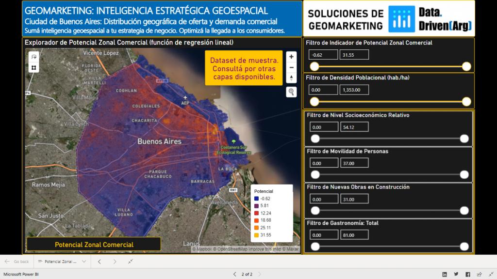Geomarkating Ciudad de Buenos Aires